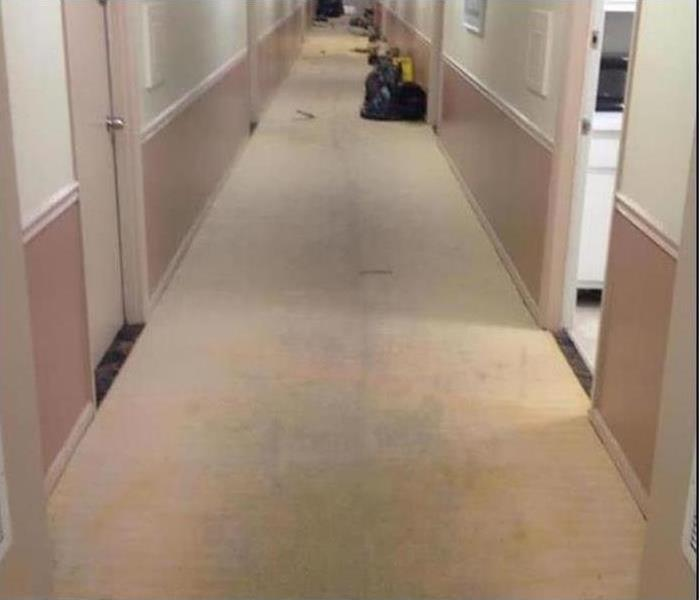 Commercial Water Damage – Fitchburg Office Building After