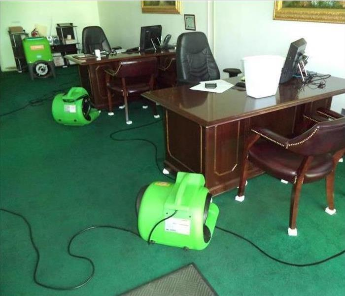 Office Flooded in Fitchburg After