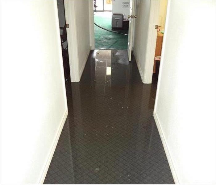 Office Flooded in Fitchburg Before