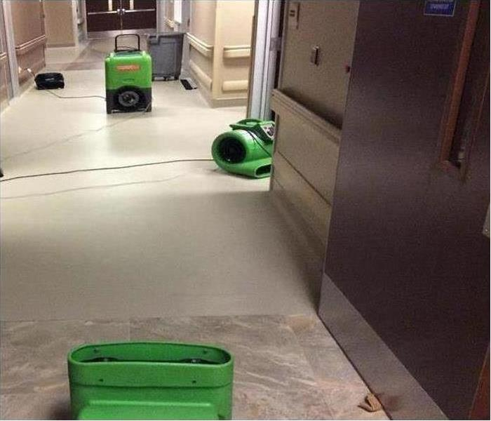 Commercial Water Damage – Leominster Offices