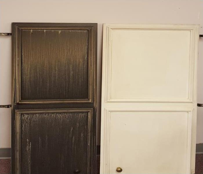 Smoke Damaged Cabinets In Fitchburg
