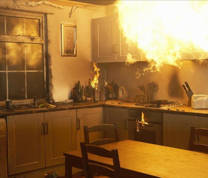 Fire Damage SERVPRO Will Restore Your Sterling Home After A Fire